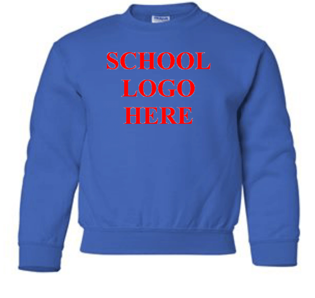 Swope Middle School Royal Crewneck Sweathshirt