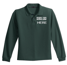 Load image into Gallery viewer, Sparks Long Sleeve Polo School Uniform