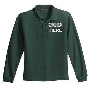 Sparks Long Sleeve Polo School Uniform