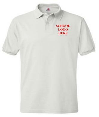 O'Brien STEM Academy White Polo