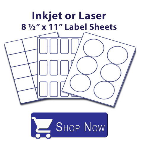 All Sizes Inkjet/Laser 8 1/2