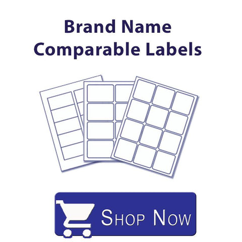 Brand Name Comparable Label Sheets.