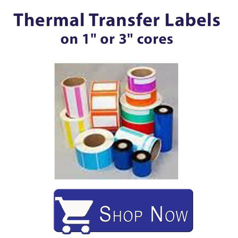 Thermal Transfer Labels on a 1