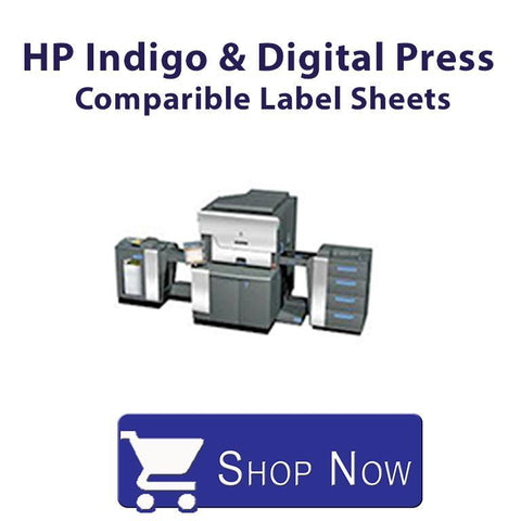 HP Indigo and Digital Press Comparible Label Sheets