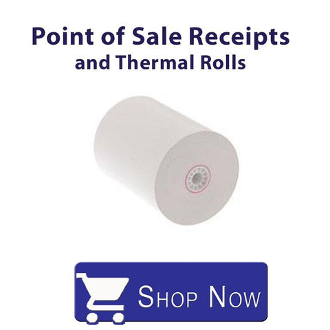 Point of Sale Receipts and thermal Rolls