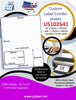 US102641 - A4 210mm x 297mm with 1-102mm x 64mm rounded Corner label. - uslabel.net - The Label Resource Center