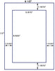 "US1076 - 1 up 5.875""  x 8.625"" label on a 8 1/2""  x 11"" sheet. - uslabel.net - The Label Resource Center"