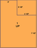 "US1120 - 4 1/2'' x 3 1/2'' on a 8 1/2"" x 11"" label sheet."