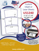 "US1240 - 3 up 5 1/2'' x 3 1/8"" Tub Label on a 8 1/2"" x 11"" inkjet and laser sheet. - uslabel.net - The Label Resource Center"