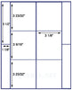 "US1659 - 3 1/8'' x varies - 6 up  on a 8 1/2"" x 11"" label sheet"