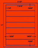 "US1842-7 5/16''x1 7/16''-7 up on a 8 1/2"" x 11"" label sheet."