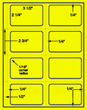 "US1940-3.5 ''x2.25'' Name Badge-8.5""x11"" label sheet."