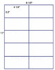 "US2081 - 4 1/4'' x2.2'' - 10 up  on a 8 1/2"" x 11"" label sheet"