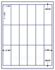 "US3046 - 3 11/32'' x 1 11/32'' - 18 up  on a 8 1/2"" x 11"" label sheet"