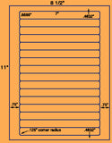 "US3271-.6689""x7''-15 up on a 8 1/2""x11"" label sheet."