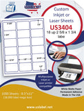 "US3404-2 5/8''x1 3/4''-18 up on a 8 1/2""x11"" label sheet.      Edit"