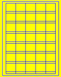 "US3709-1 1/2''Sq. Price 35 up on a 8 1/2"" x 11"" label sheet"