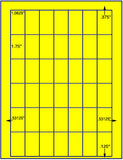 "US3820-1 1/6''x1 3/4''-42 up on a 8 1/2""x11"" label sheet."
