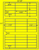 "US3832-2.625''x.65''-45 up on a 8 1/2"" x 11"" label sheet."