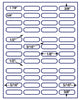 "US3841 - 48 up - 1 7/8'' x 5/8'' label on a 8 1/2"" x 11"" inkjet or laser label sheet. - uslabel.net - The Label Resource Center"
