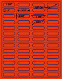 "US3865-1 3/4''x1/2''-52 up on a 8 1/2""x11"" label sheet."
