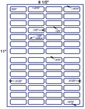 "US3881-1.875''x.625''-56 up on a 8 1/2""x11"" label sheet."