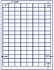 "US3960 - 128 up 1'' x 5/8'' label on a 81/2"" x 11"" inkjet or laser sheet. - uslabel.net - The Label Resource Center"