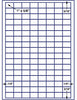 "US3980 - 136 up - 1'' x 5/8'' label on a 8 1/2"" x 11"" inkjet or laser sheets. - uslabel.net - The Label Resource Center"