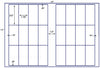 US7042 - 1.75'' x 3.5'' - 24 up label on a 11'' x 17'' sheet. - uslabel.net - The Label Resource Center