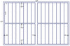 US7377 - 1'' x 5.24'' - 32 up label on a 11'' x 17'' laser sheet. - uslabel.net - The Label Resource Center