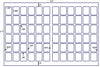 US7716 - 1.25'' x 1.625'' - 72 up label on a 11'' x 17'' laser sheet - uslabel.net - The Label Resource Center
