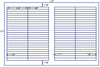 US7862 - 3 3/4'' x 3/8'' - 100 up label on a 11'' x 17'' laser sheet. - uslabel.net - The Label Resource Center