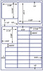US9425 - 28 up Various Sizes on 8 1/2'' x 14'' laser sheet - uslabel.net - The Label Resource Center
