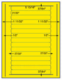 "US4020-5 13/16''x21/32''-15 up on a 8 1/2""x11"" label sheet."
