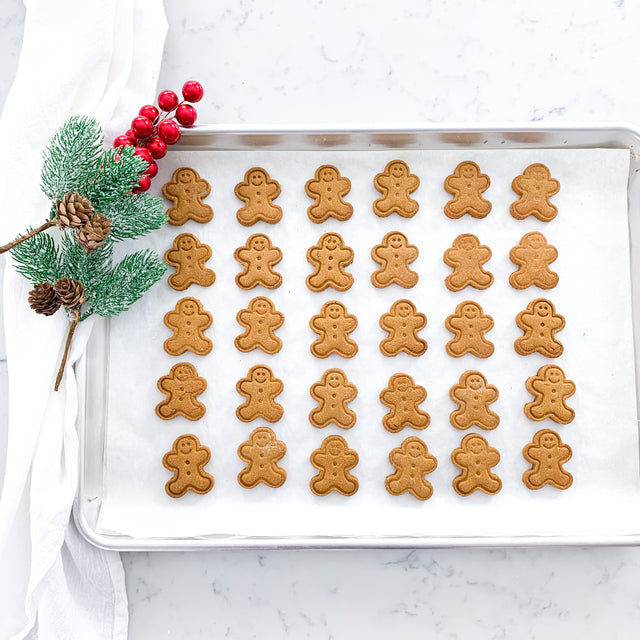 Gingerbread Dog Treats 🎅 Holiday Dog Biscuits