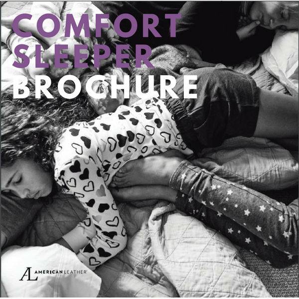 American Leather Comfort Sleeper Brochure