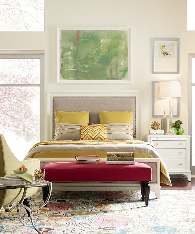 Manuscript Bedroom Collection in White