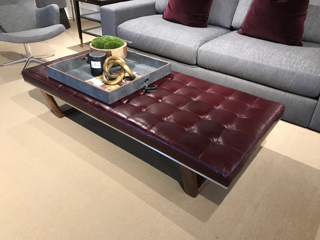 Picture of: Sold Edison Ottoman Bench Cadieux Interiors Ottawa Furniture Store