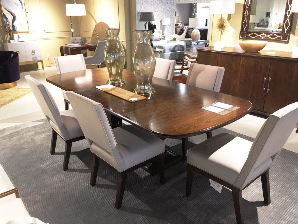 Haven Dining Table In Brunette Finish