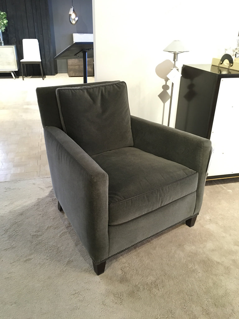 1296 Chair In Flanders Coal Fabric