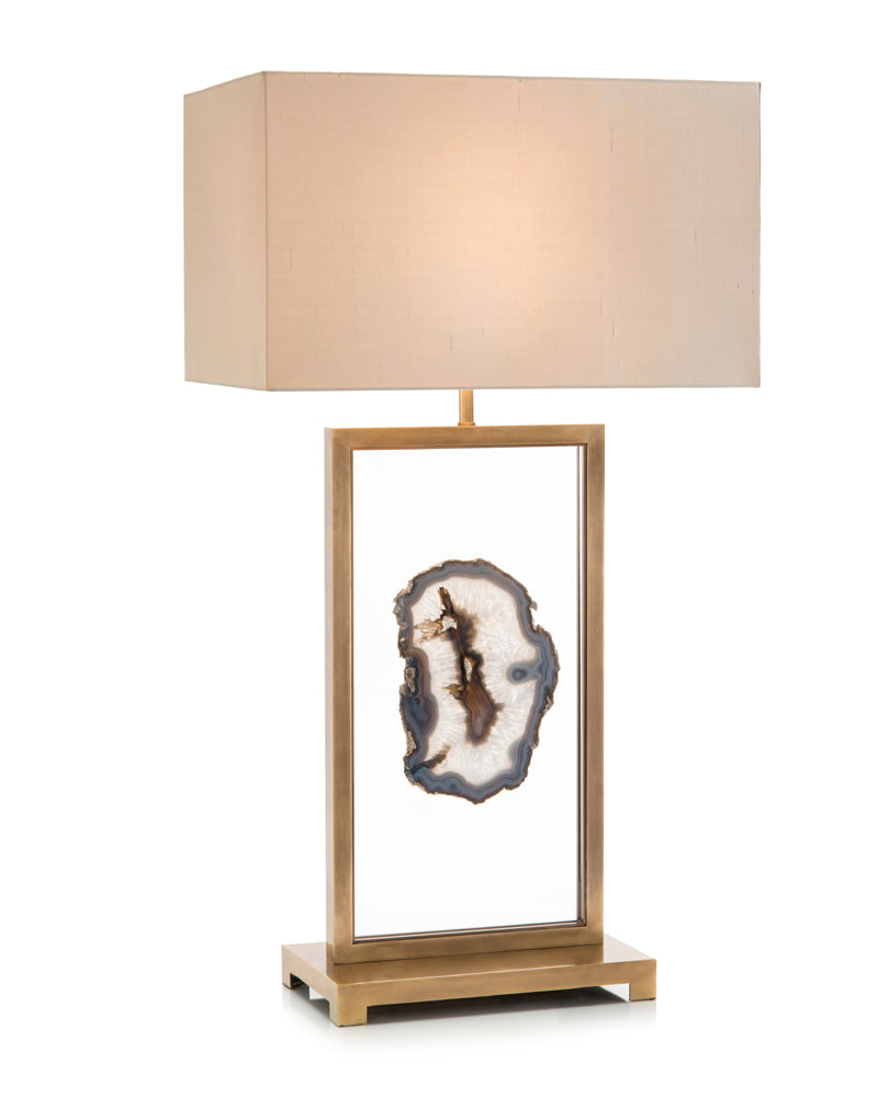 slided agate table lamp cadieux interiors ottawa furniture store