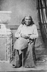 Chief Seattle, seated