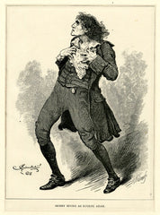 "Henry Irving in the title role of ""Eugene Aram"""