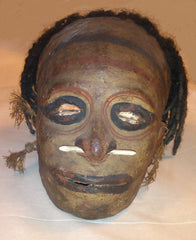 Overmolded skull of Papua New Guinea woman, pre-1950