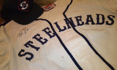 Seattle Steelheads uniform: jersey and hat