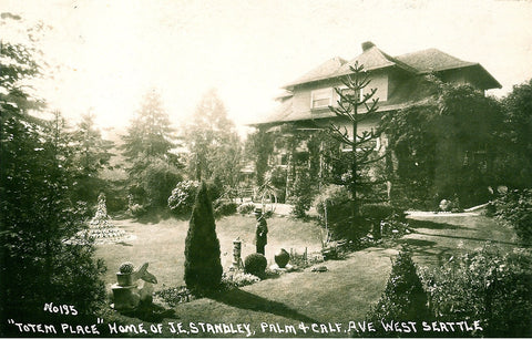 Standley's property in West Seattle, Totem Place
