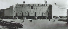 Sicks Stadium in Seattle