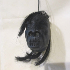 rubber shrunken head