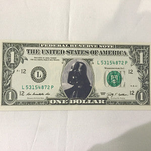 darth vader collectible dollar
