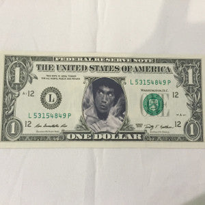 bruce lee collectible dollar